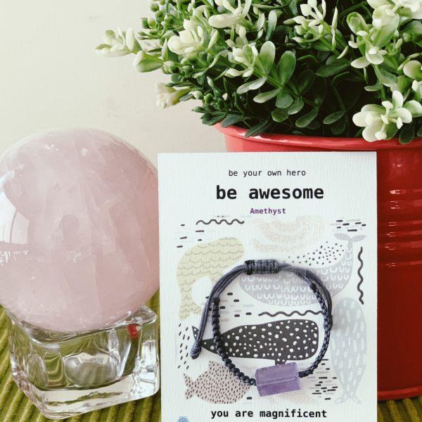 Kids Bracelet – Be Awesome