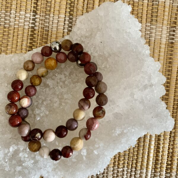 Mookite healing bracelet
