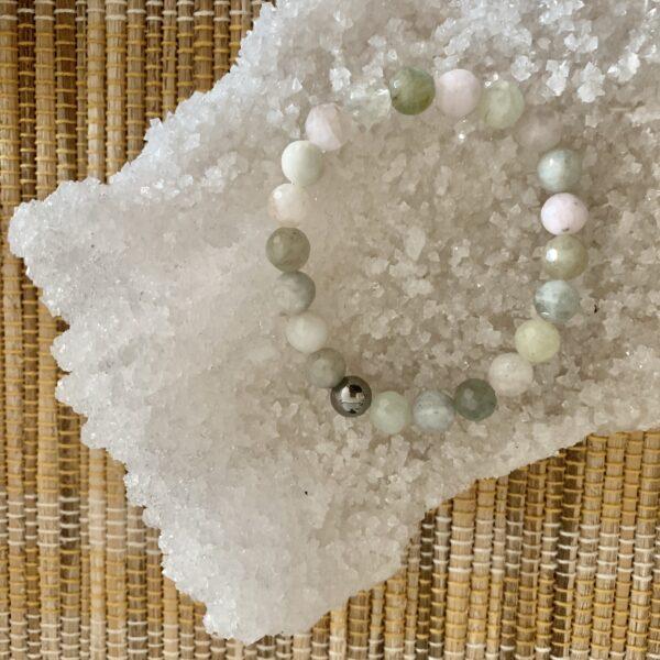 Beryl healing bracelet