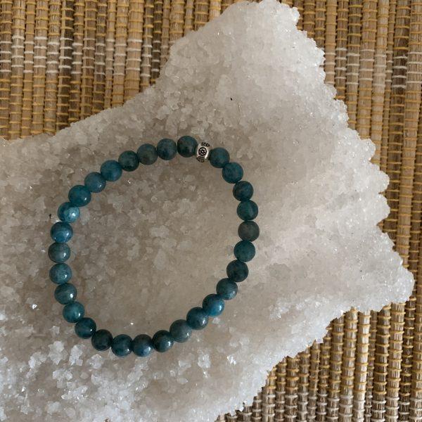 Apatite healing bracelet