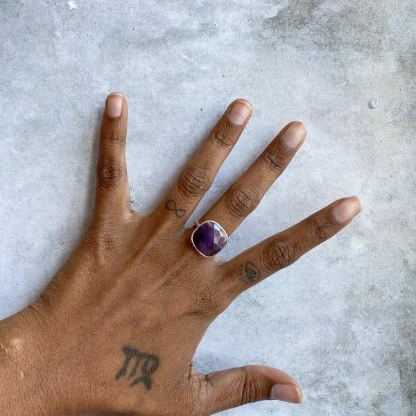 Ring: Amethyst