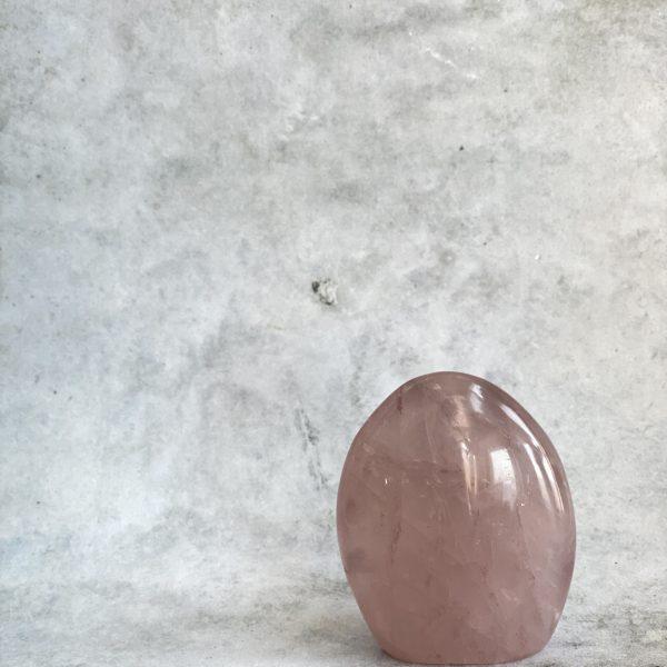 Rose Quartz Freeform (Self Standing)
