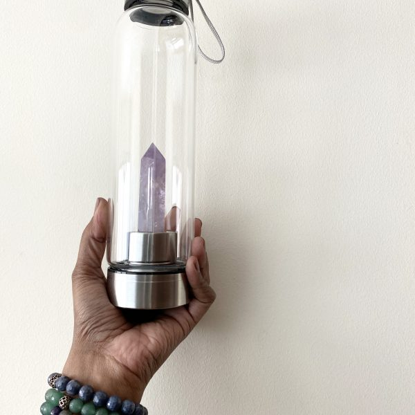 Gem Water Bottle : Amethyst